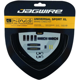 Jagwire Universal Sport XL Bremszugset schwarz